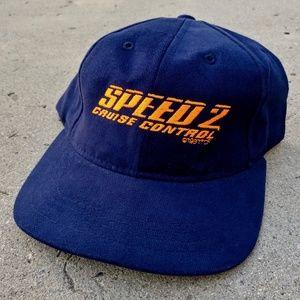 Vintage 1997 Speed 2: Cruise Control Snapback Hat